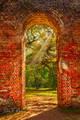 Doorway of Endurance print