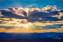 Arkansas, Boston Mountain Highlands, Mountains and Overlooks Gallery, sunset