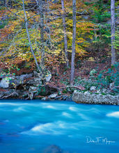 Fast Water,Mulberry River North Arkansas,fall