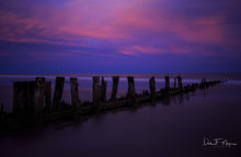 Folly Beach,coastal,low tide,piers,worn jetty