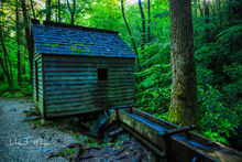 Great Smoky Mountains,Old Mill,Reagans Mill,Roaring Fork,flume,running water,time gone by gallerie