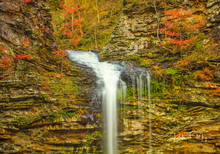 Arkansas, Cedar Creek Canyon, Fall 2018, Petit Jean Mountain, River Streams and Waterfalls Gallerie, cedar falls