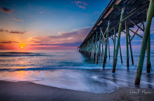 Kure Beach Pier,North Carolina,coastal,ocean,sunrise