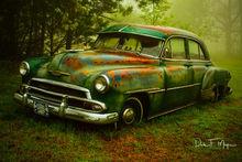 1951 Chevrolet Sedan, fog, old car, rain, time gone by gallerie