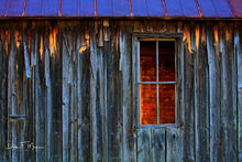 a time gone by gallerie, old house and window, rural Arkansas