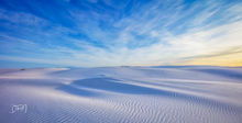 New Mexico, White Sands National Park, sunrise, winter 2019