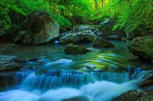 Smith Creek Ar,Smith creek,rocks,running water,spring2011,water fall