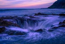 Cape Perpetua Yachats coastal area, Morning Light, Oregon Gallery, Thors Well, fall 2016