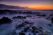 Cape Perpetua Scenic Area, Oregon Coast, Oregon Gallery, Yachats Oregon, fall 2016, long exposure, sunset