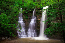 Spring 2017, Triple Falls, high water, jasper Arkansas, rivers streams and waterfalls gallery