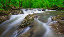 Spring 2017, Upper Buffalo Wilderness Area, Whitaker Creek Arkansas, ozark national forest, rivers streams and waterfalls gallerie, water flow, waterfall