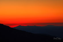 Mount Magazine, Mountains and Overlooks Gallerie, sunset