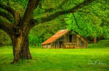 Barn, Ponca Valley, North Arkansas