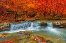 Arkansas, Fall 2018, River Streams and Waterfalls Gallery, Upper Buffalo Wilderness Area, Witaker Creek, waterfall
