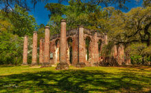Old Sheldon Church, Yemassee South Carolina