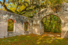 Chapel of Ease Saint Helena Island SC, Southern Places Gallery, Spring 2019