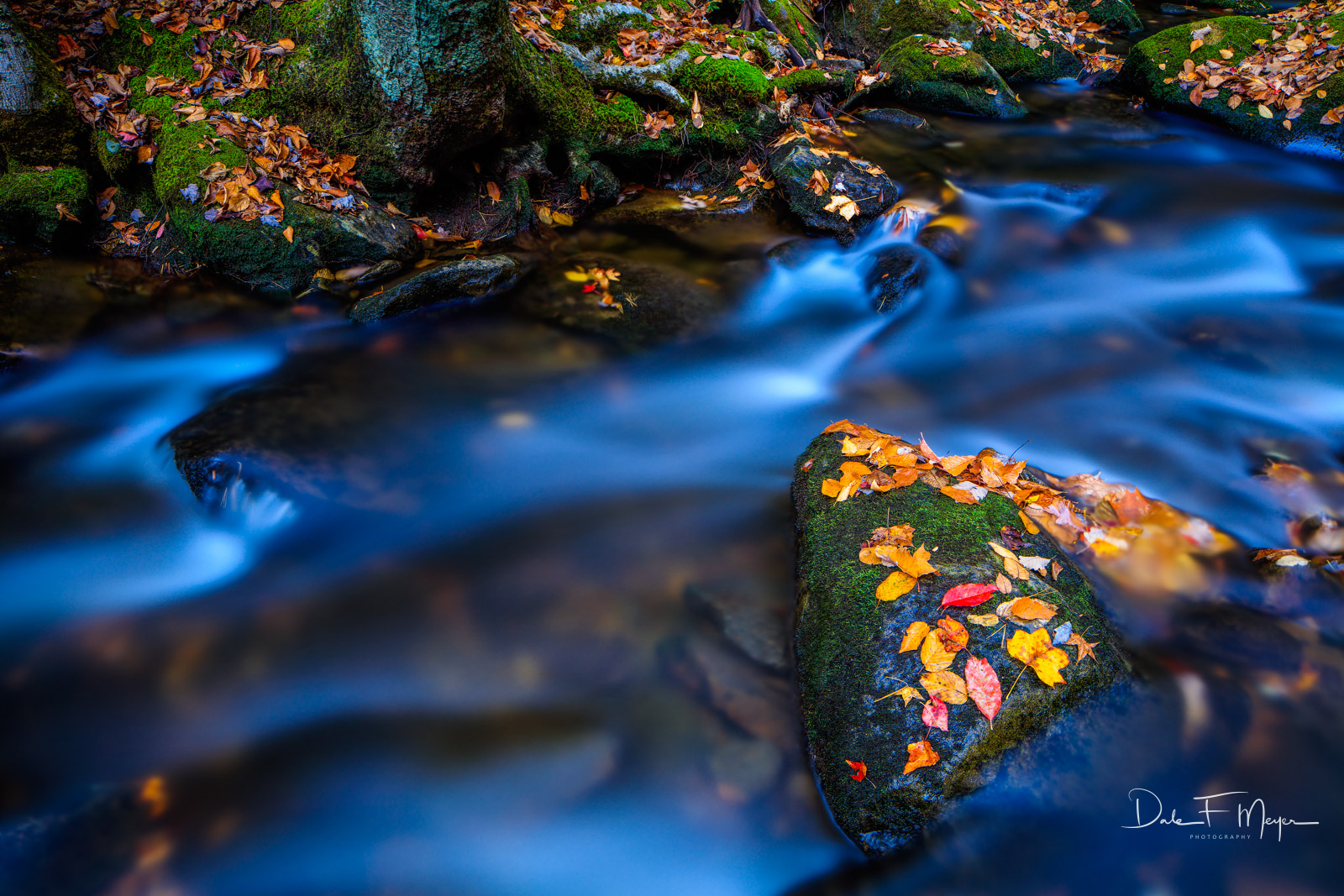 Great Smokey Mountains,Middle Prong Little River,Tremount,fall,rivers streams and waterfalls gallerie, photo