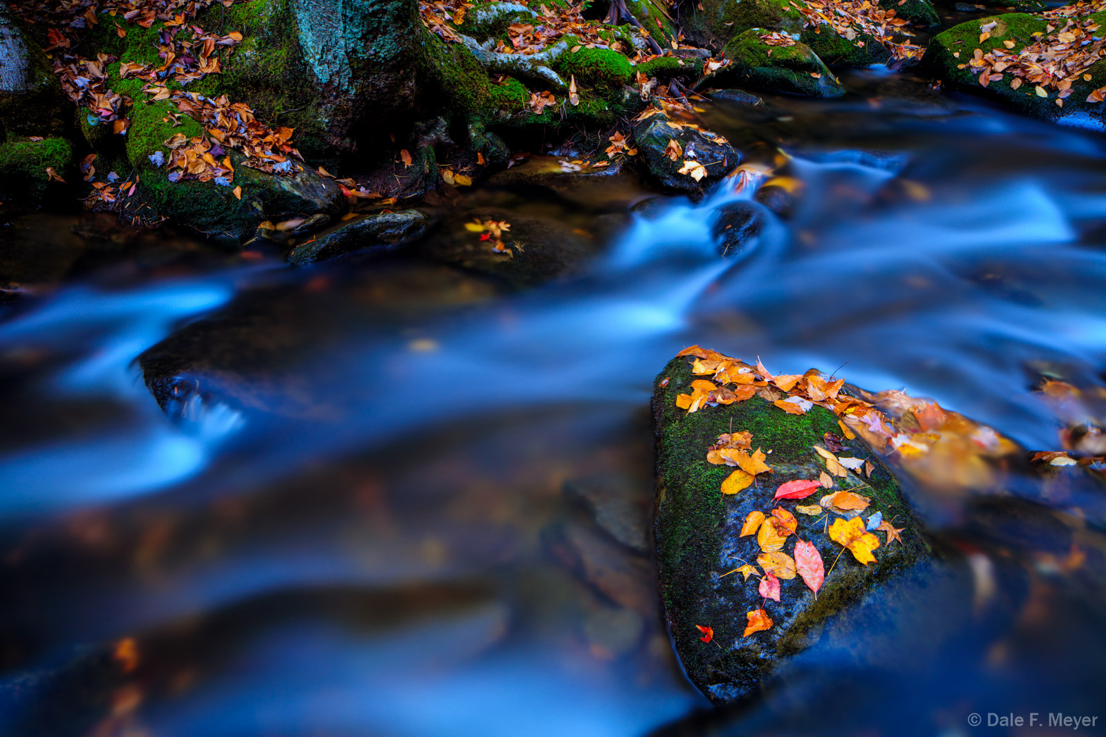 Great Smokey Mountains,Middle Prong Little River,Tremount,fall,rivers streams and waterfalls gallerie