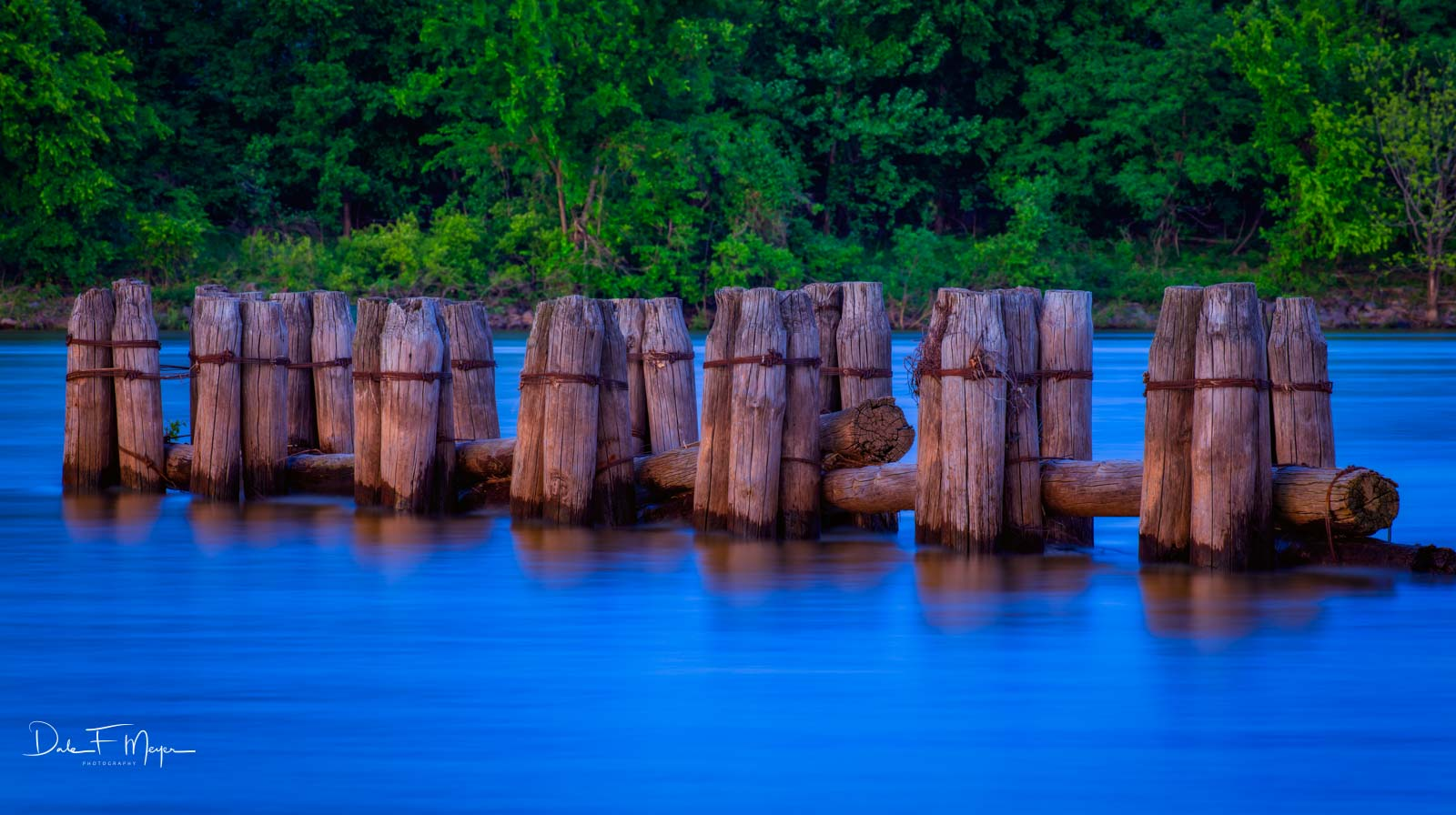 Dardanelle Arkansas River Piers, Old wooden Piers, Spring 2016, high water, time gone by gallerie, photo