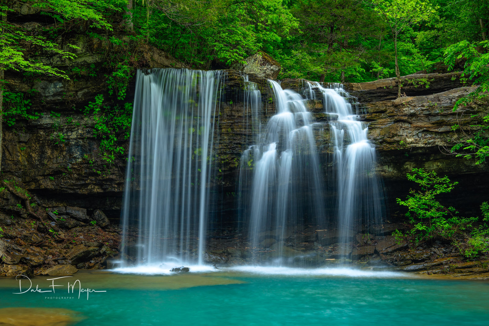 Big Devils Fork confluence to Richland Creek Arkansas, rivers streams and waterfalls gallery, waterfall