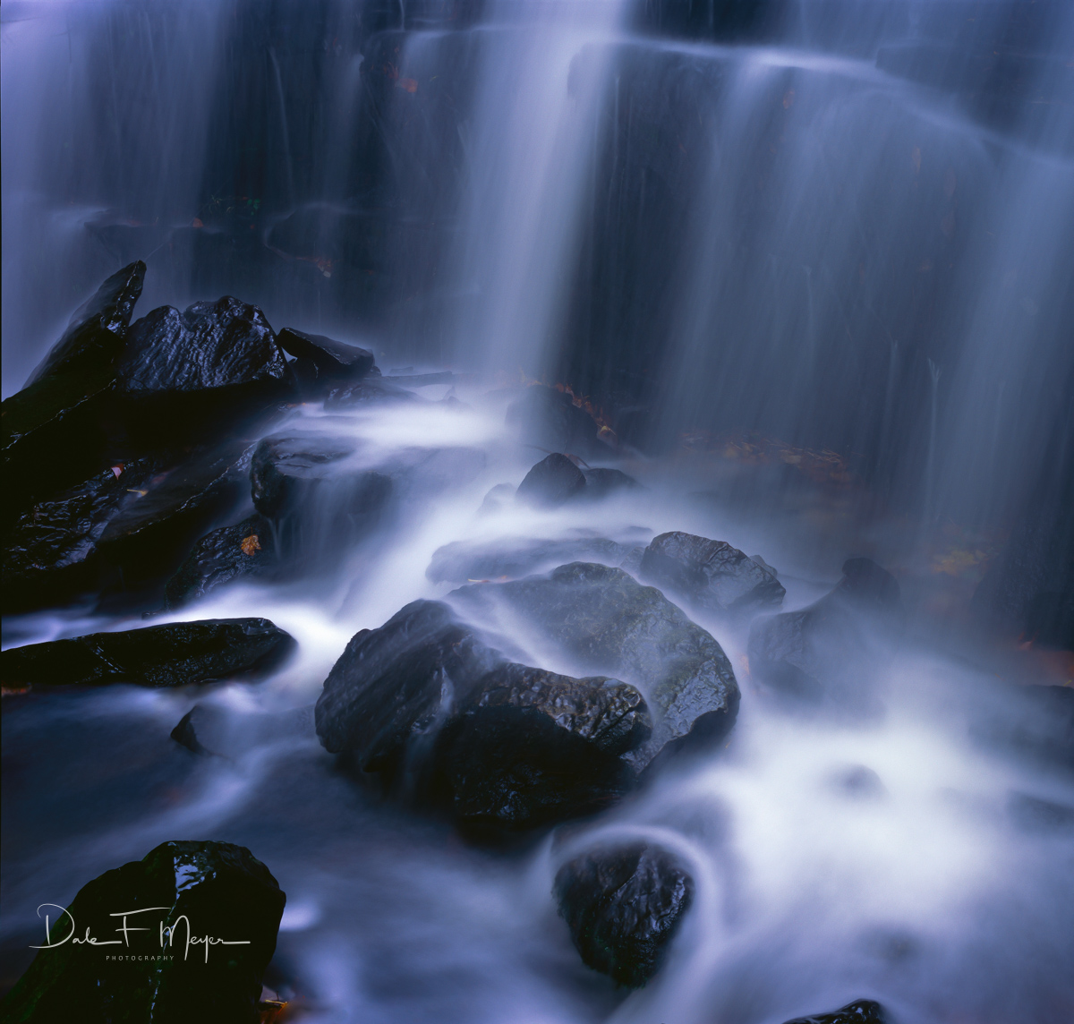 Black Stone, Petit Jean, waterfall, Waters Light, photo