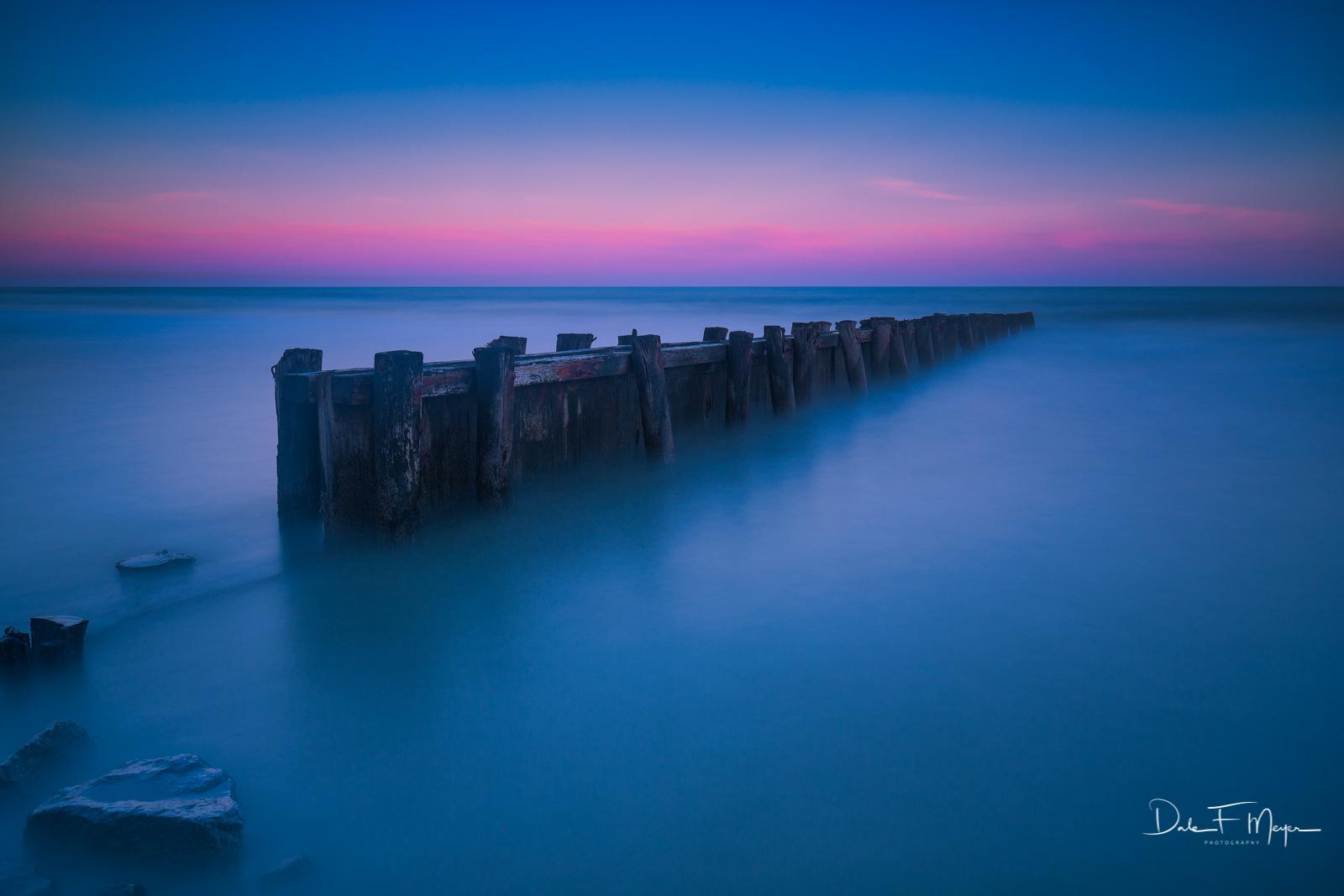 Costal,Pier,long exposure,sunset, photo