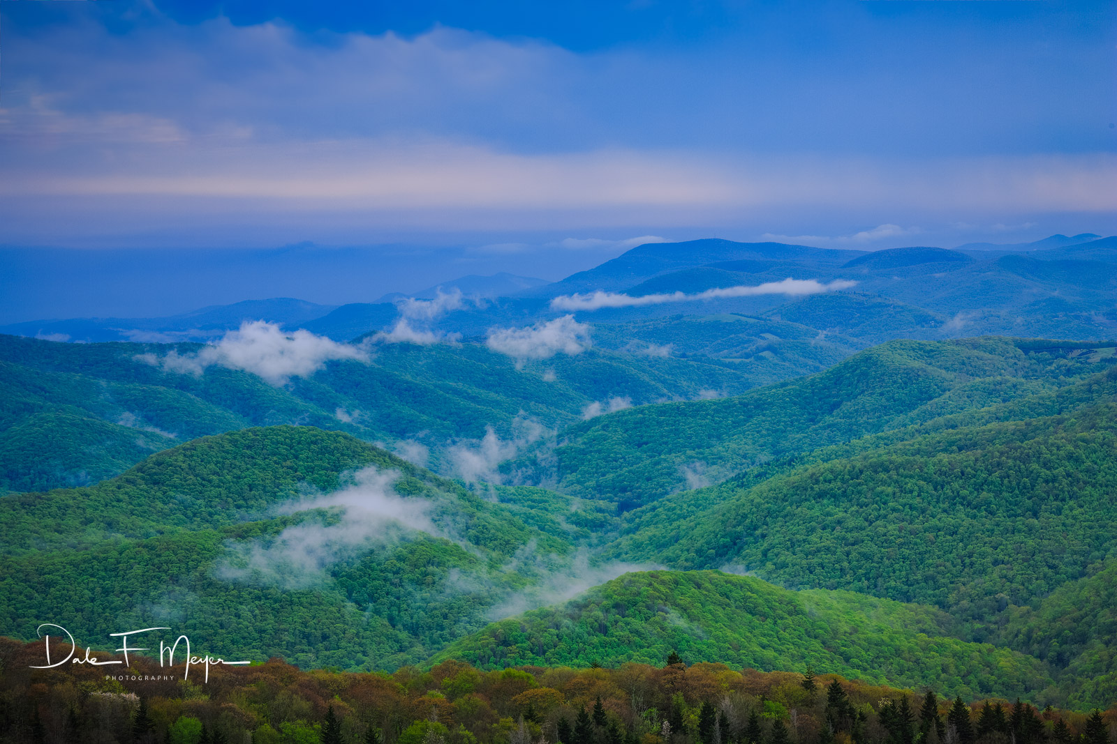 Blue Ridge Parkway,Mountains,Spring 2013, photo