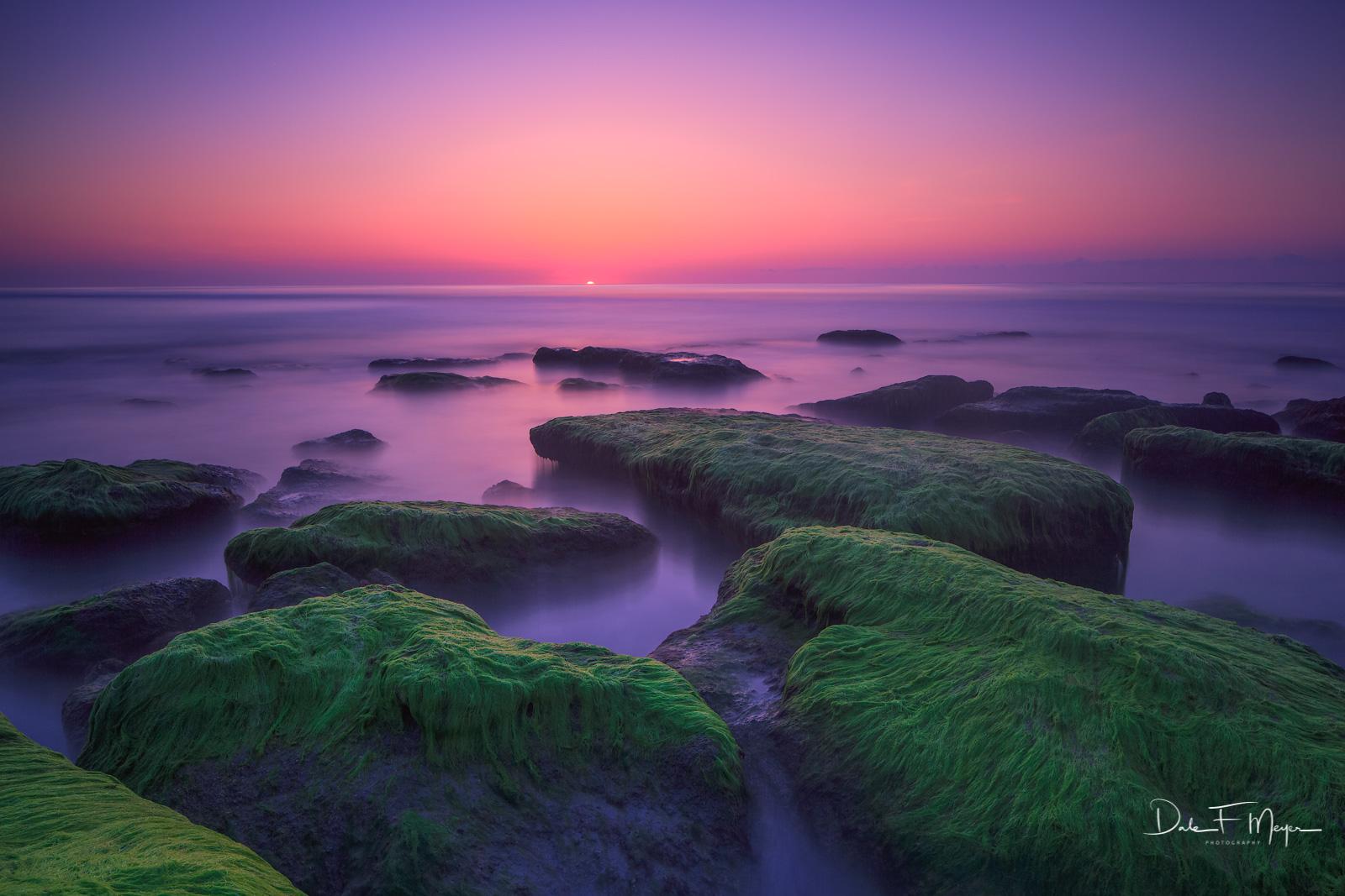 Coquina Rocks,Morning Light, Carolina Beach, North Carolina
