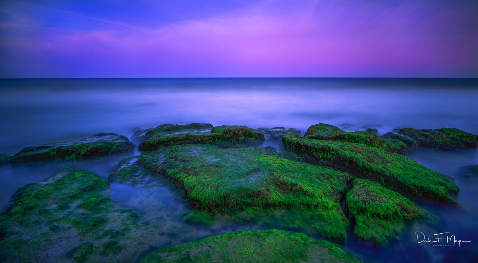 coastal, Coastal Photos of the Eastern Seabord Gallery, Coquina Rocks, Evening Light, long exposure, North Carolina, photo