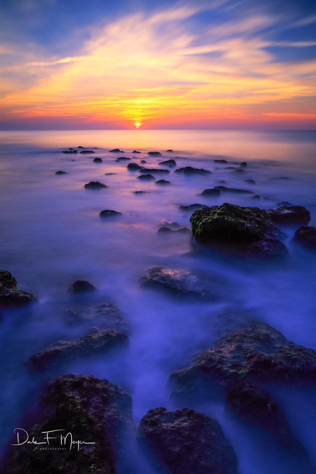 Carolina Beach, Coastal Photos from the Eastern Seaboard Gallery, long exposure, North Carolina, ocean, Old Stone Jetty, sunrise, photo