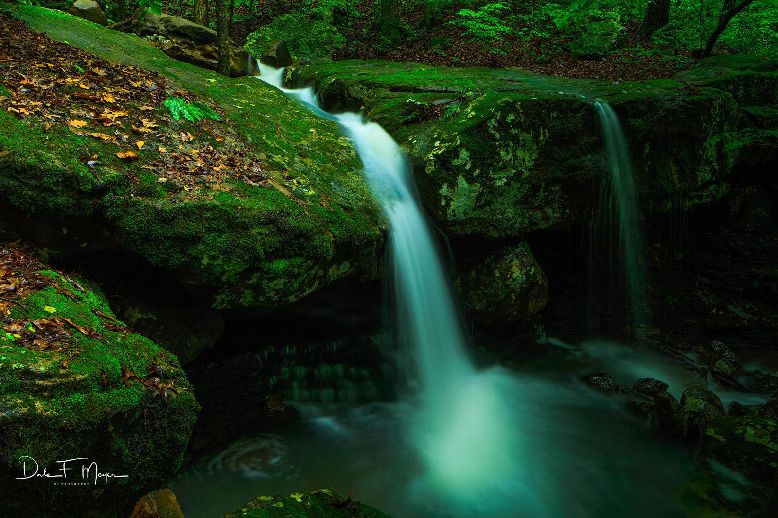 North Arkansas,boulders,falling water road,spring,waterfall, photo