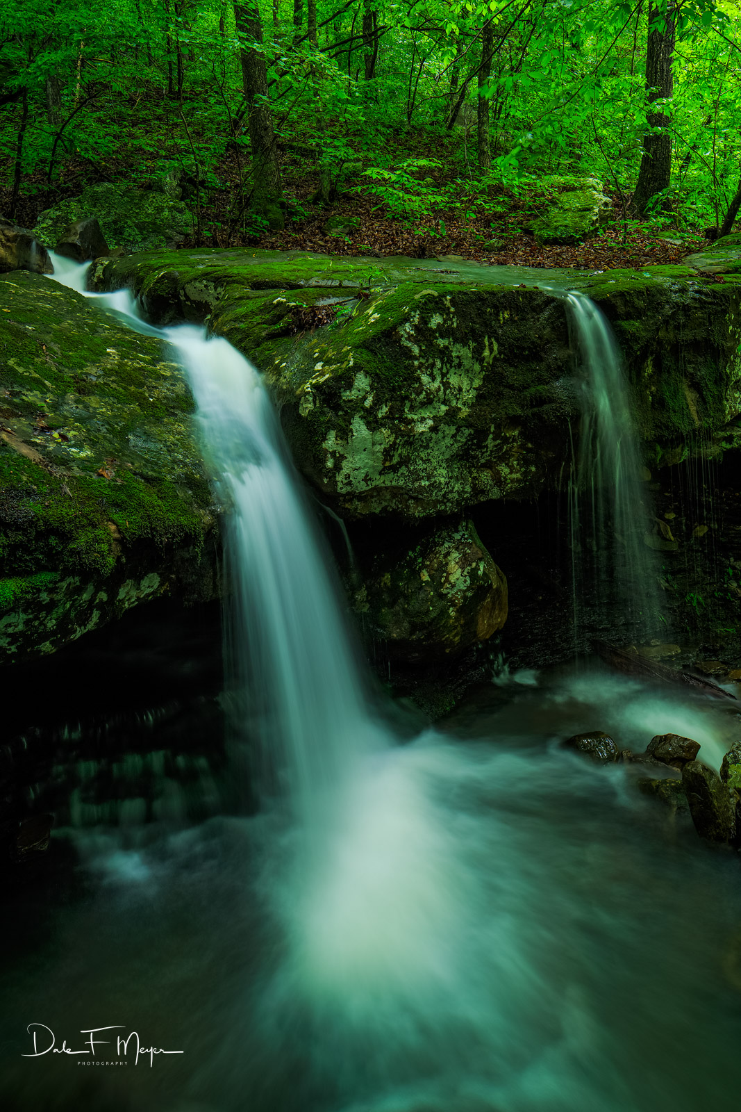 North Arkansas,boulders,falling water road,spring,verticle,waterfall, photo