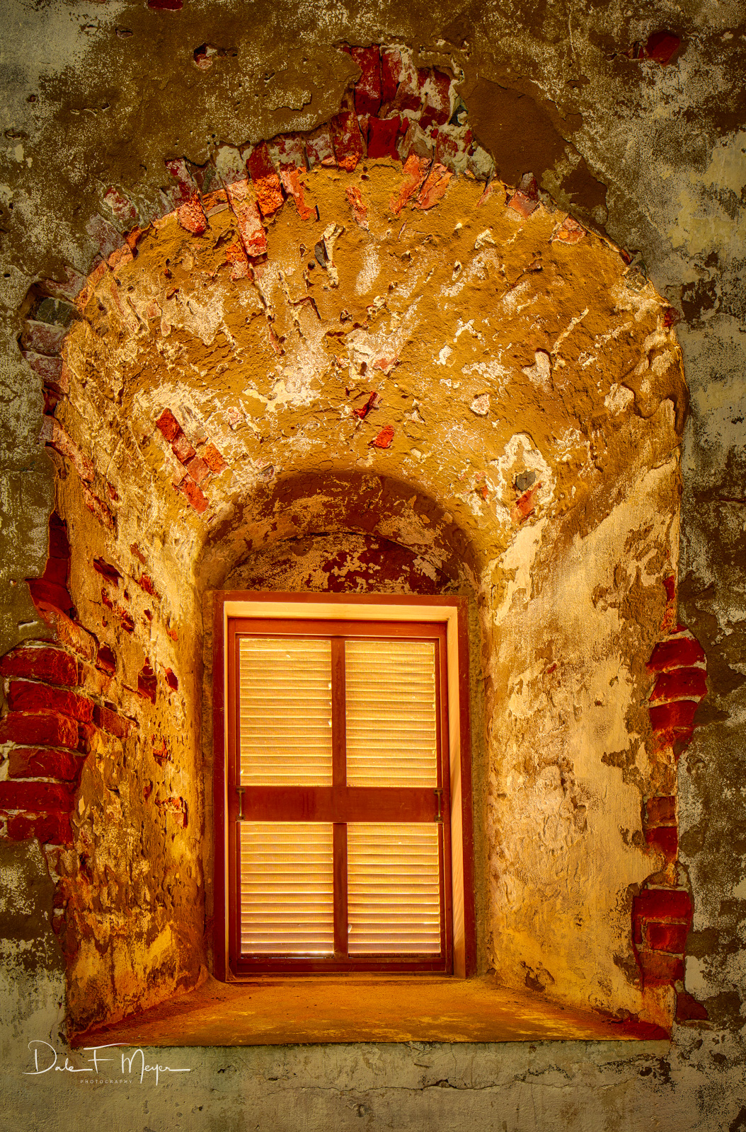 Old Baldy,Old Baldy Lighthouse window,North Carolina,Bald Head Island, 1817, photo