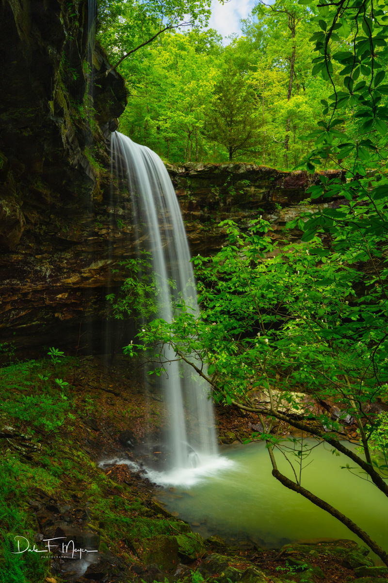 Arkansas, Bowers Hollow Falls, Buffalo River Region, River Streams and Waterfalls Gallery , photo
