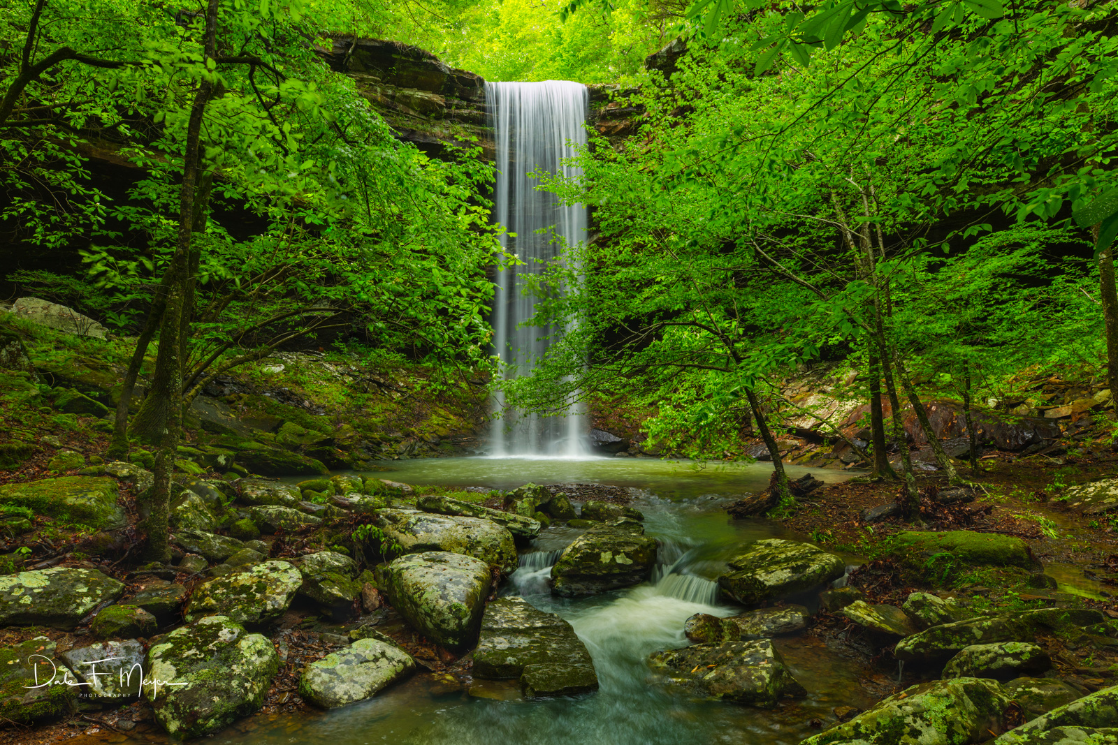 Bowers Hollow Falls Arkansas, River Streams and Waterfalls Gallery, Buffalo River Region, Arkansas, photo