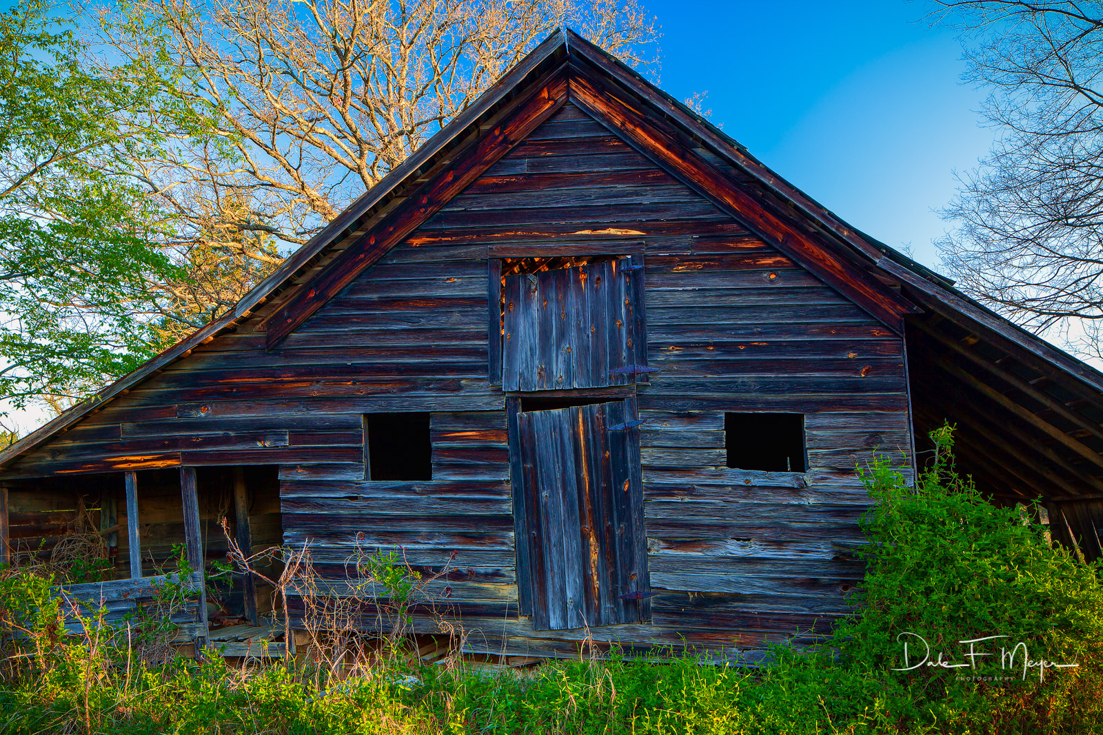 Old barn,rural Arkansas,spring 2011,time gone by gallerie, photo