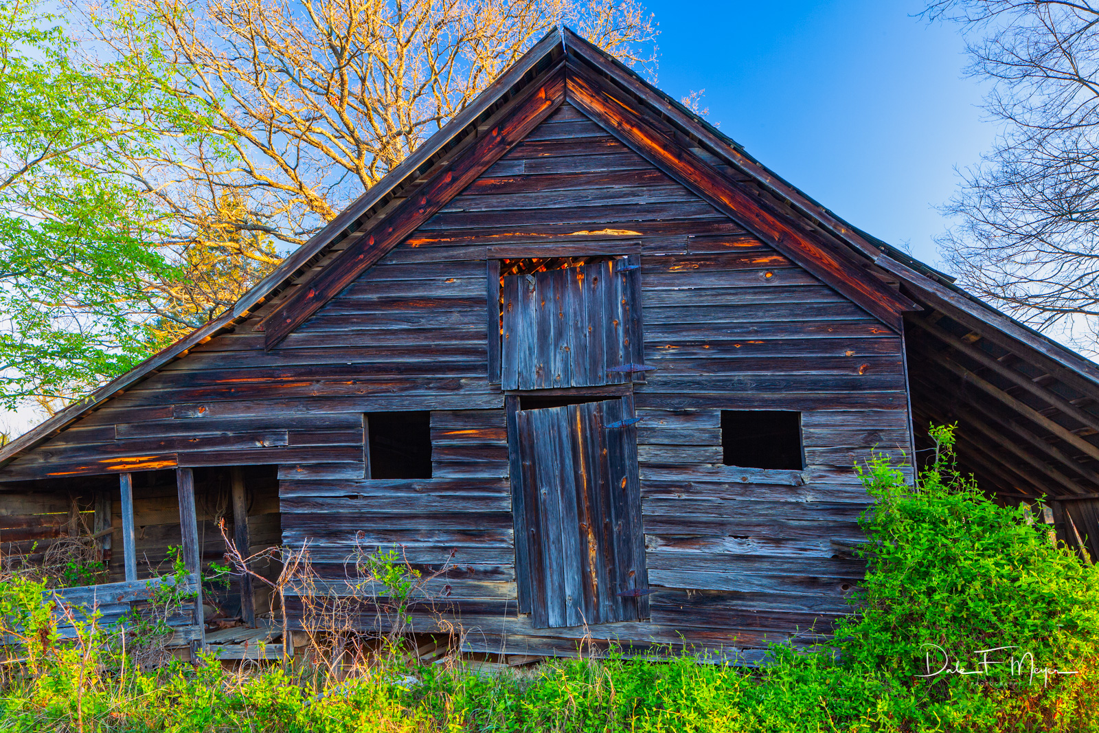 Old barn,rural Arkansas,spring 2011,time gone by gallery, photo