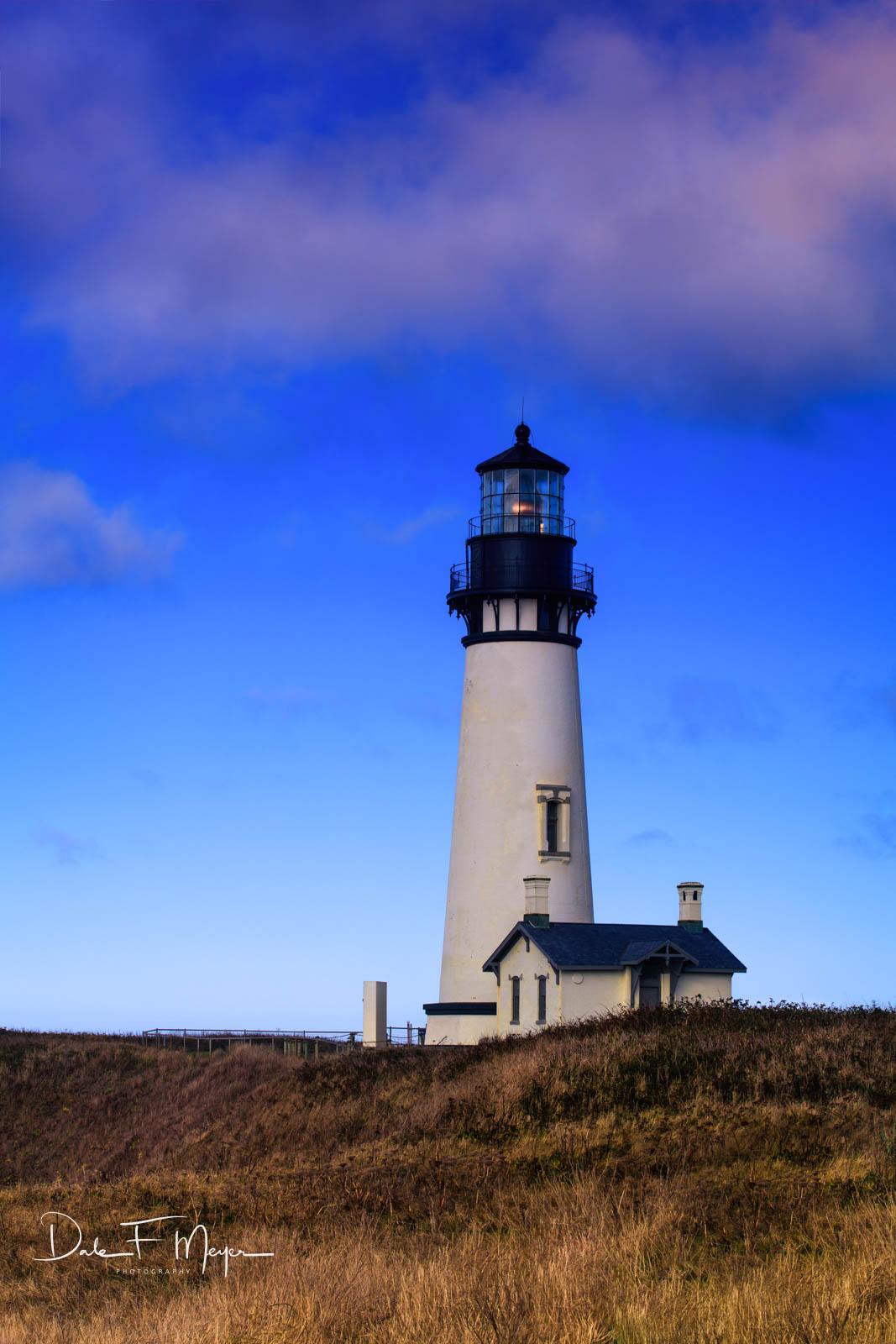 Yakina Head Lighthouse Oregon., photo