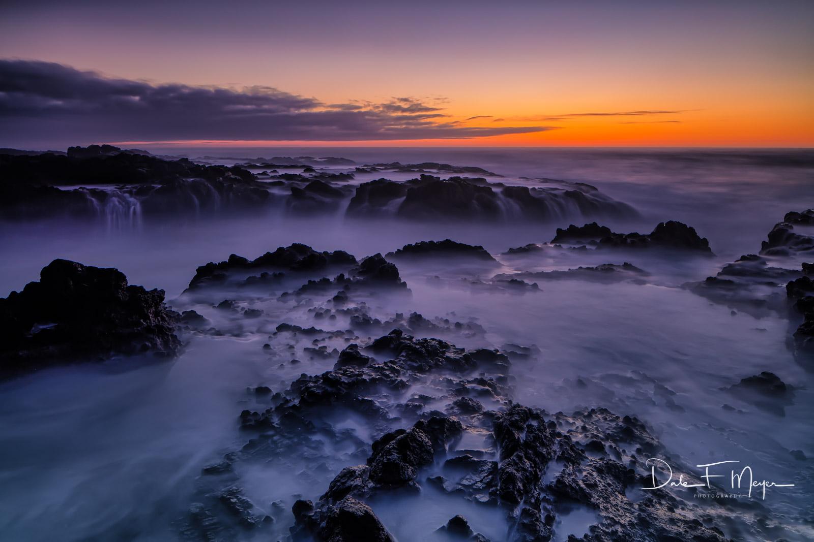 Cape Perpetua Scenic Area, Oregon Coast, Oregon Gallery, Yachats Oregon, fall 2016, long exposure, sunset, photo