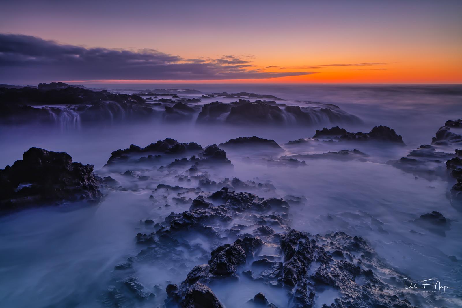 Cape Perpetua Scenic Area, Oregon Coast, Oregon Gallery, Yachats Oregon, fall 2016, long exposure, sunset