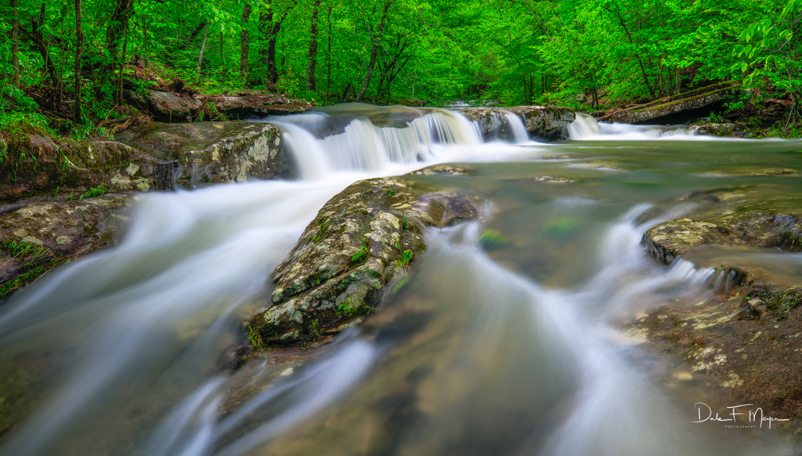 Spring 2017, Upper Buffalo Wilderness Area, Whitaker Creek Arkansas, ozark national forest, rivers streams and waterfalls gallery, water flow, waterfall, photo