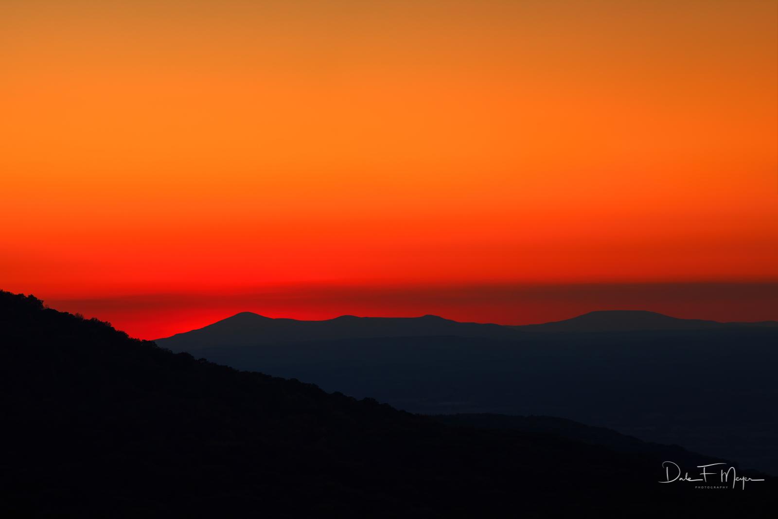 Mount Magazine, Mountains and Overlooks Gallerie, sunset, photo