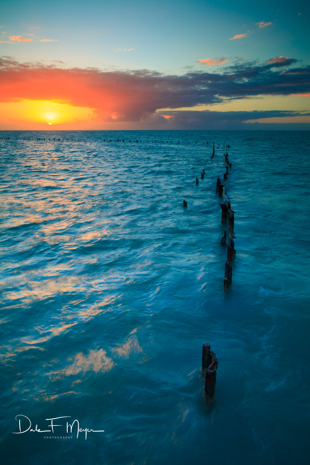higgs beach,key west,ocean,piers,sunrise, photo
