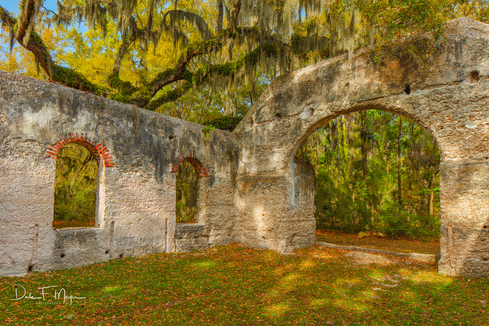 Chapel of Ease Saint Helena Island SC, Southern Places Gallery, Spring 2019, photo